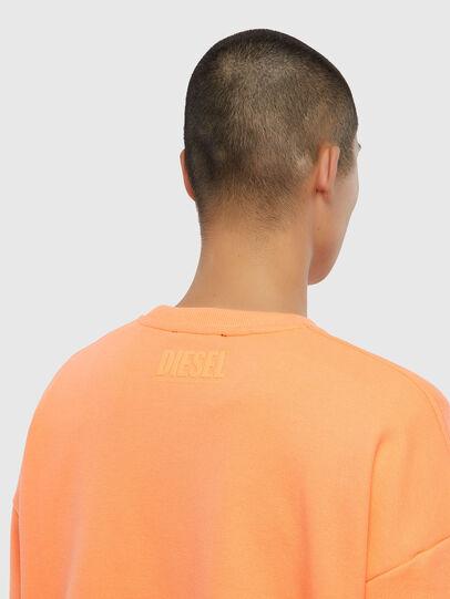 Diesel - S-MART-FLU, Orange - Sweaters - Image 4