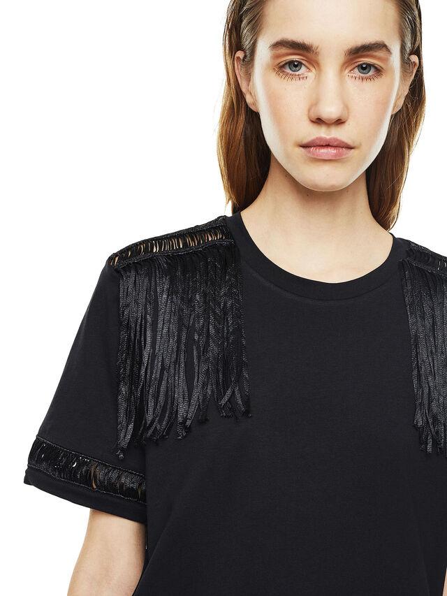 Diesel - TREENA, Black - T-Shirts - Image 4