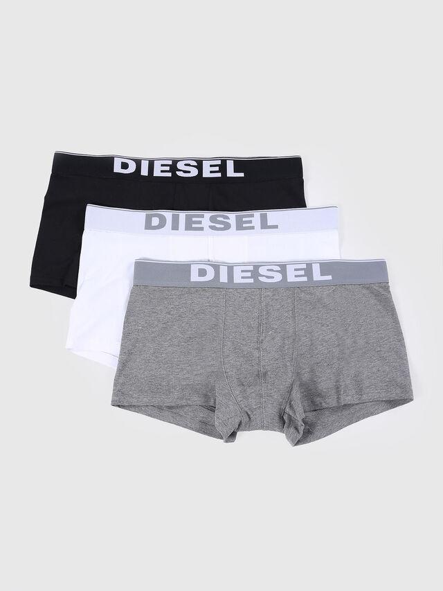 Diesel - UMBX-KORYTHREEPACK, White/Black - Trunks - Image 1