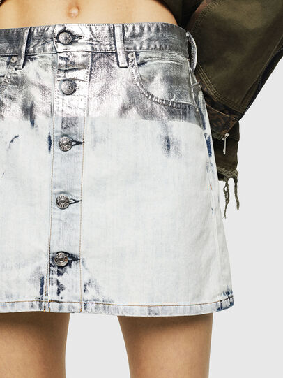 Diesel - DE-JODY-R, Light Blue - Skirts - Image 3