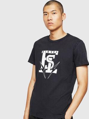 T-DIEGO-B14, Black - T-Shirts