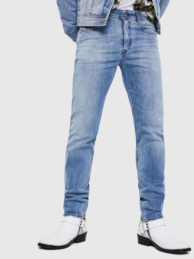 Diesel - Buster 081AL, Light Blue - Jeans - Image 1