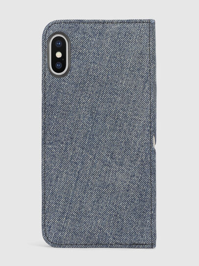 Diesel - DENIM IPHONE X FOLIO,  - Flip covers - Image 3