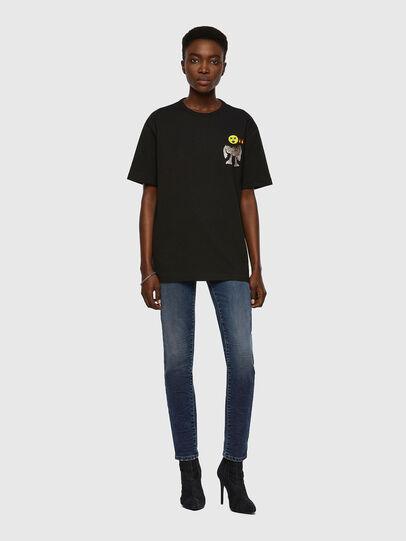 Diesel - T-BOYISH, Black - T-Shirts - Image 4