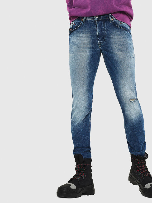 Diesel - Belther 081AQ, Medium blue - Jeans - Image 4