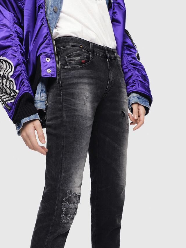 Diesel - D-Rifty 069DW, Black/Dark grey - Jeans - Image 3