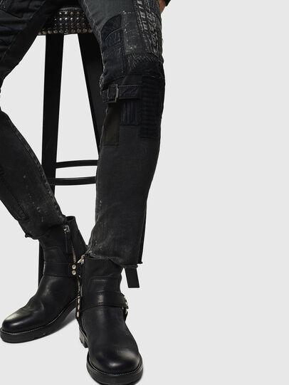 Diesel - D-Strukt 0093P, Black/Dark grey - Jeans - Image 5