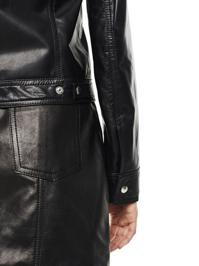 Diesel - LUCYLLE,  - Leather jackets - Image 3