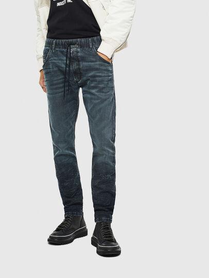 Diesel - Krooley JoggJeans 069MD, Dark Blue - Jeans - Image 1