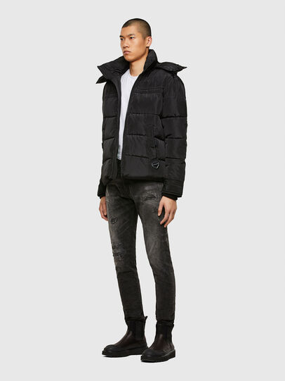 Diesel - W-RUSSELL-WH, Black - Winter Jackets - Image 6