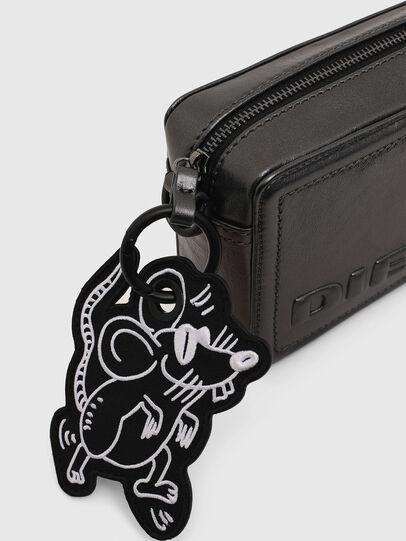 Diesel - ROSA' CNY, Silver - Crossbody Bags - Image 5