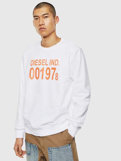 Diesel - S-GIRK-J3, White - Sweaters - Image 1
