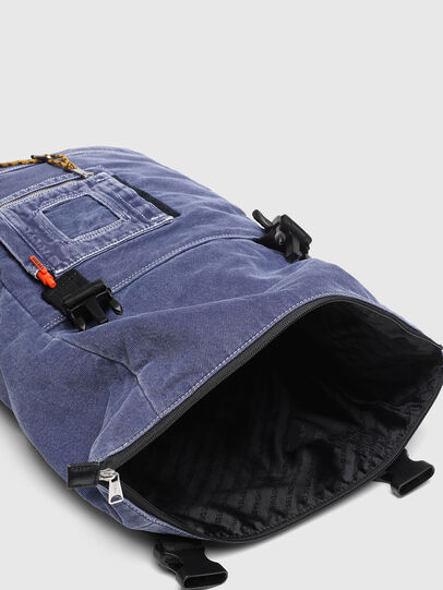 Diesel - FOLD, Blue - Backpacks - Image 4