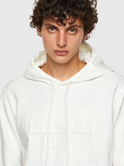 Diesel - DxD-21, White - Sweaters - Image 4