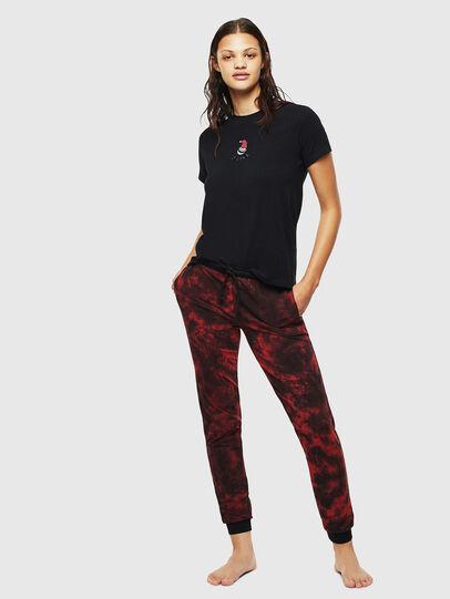 Diesel - UFSET-SILYBYX, Black/Red - Pajamas - Image 1