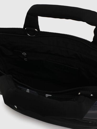 Diesel - GYNEVRA, Black - Satchels and Handbags - Image 4
