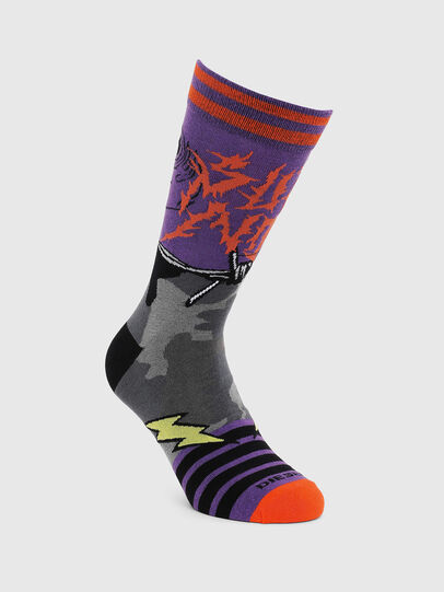 Diesel - SKM-RAY, Violet - Socks - Image 1
