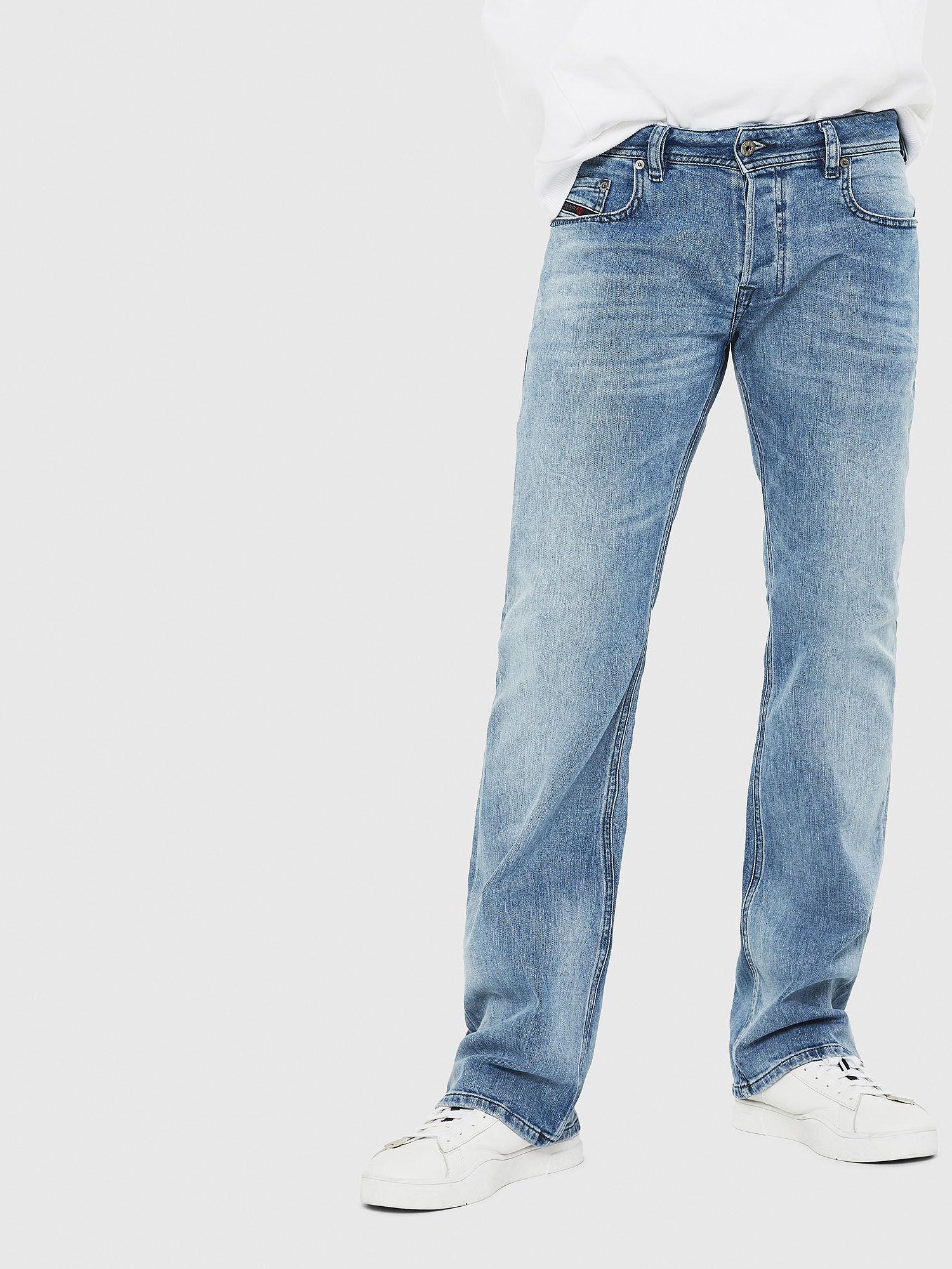 Men: Bootcut Light blue Jeans   Diesel