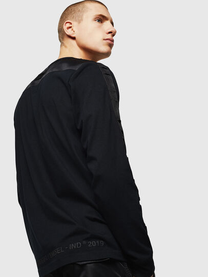 Diesel - T-JUST-LS-BX3, Black - T-Shirts - Image 4