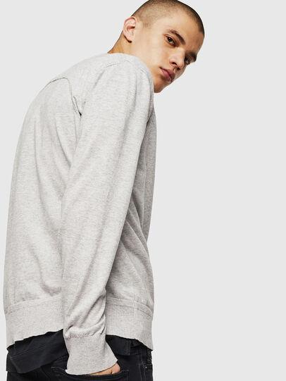 Diesel - K-MILOK, Light Grey - Knitwear - Image 5