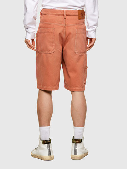Diesel - D-FRANKY-SHORT-SP, Orange - Shorts - Image 2