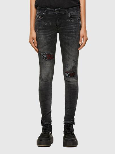 Diesel - D-Jevel 009JN, Black/Dark grey - Jeans - Image 1