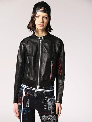 L-LYSSA-B,  - Leather jackets