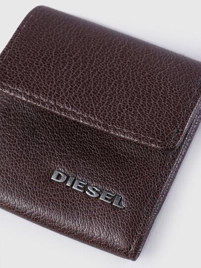 Diesel - KOPPER, Dark Brown - Small Wallets - Image 3
