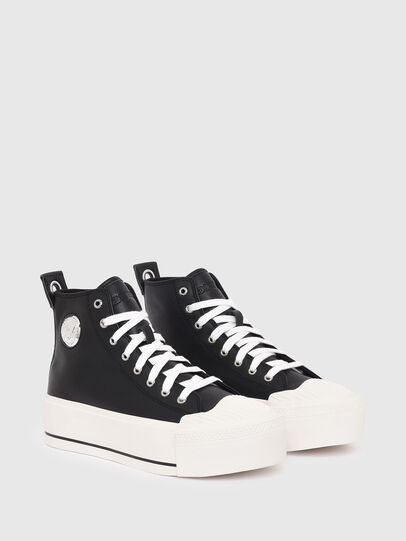 Diesel - S-ASTICO MC WEDGE, Black - Sneakers - Image 2