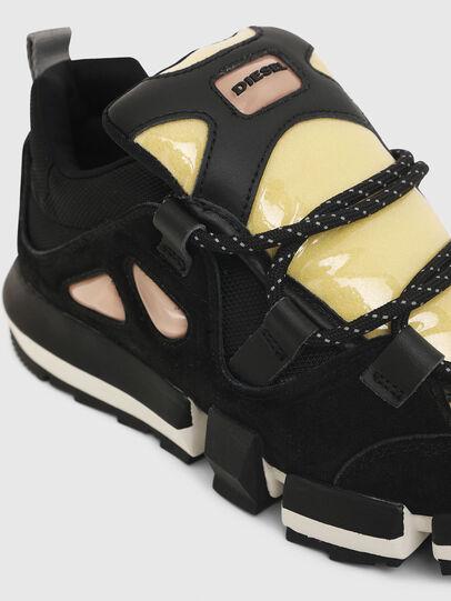 Diesel - H-PADOLA SL W, Black/Yellow - Sneakers - Image 5