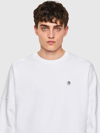 Diesel - S-KRIB-ROMOHI, White - Sweaters - Image 3