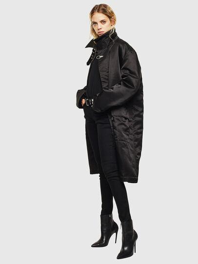 Diesel - W-ADAM, Black - Winter Jackets - Image 8