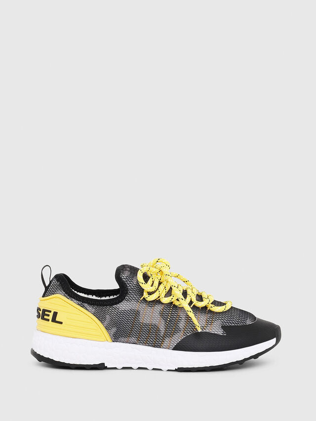 Diesel - SN LOW 10 S-K YO, Gray/Black - Footwear - Image 1