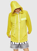 S-GIM-HOOD-ZIP, Yellow Fluo - Sweaters