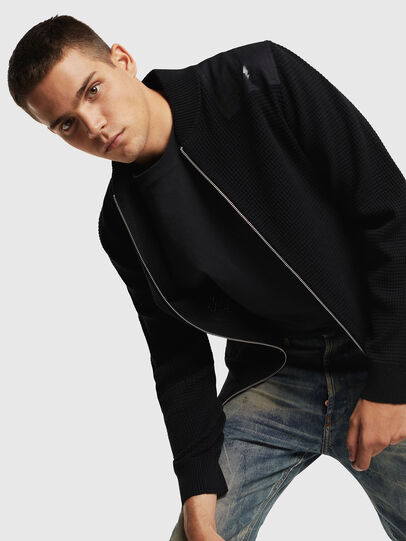 Diesel - K-PROXTER, Black - Knitwear - Image 4