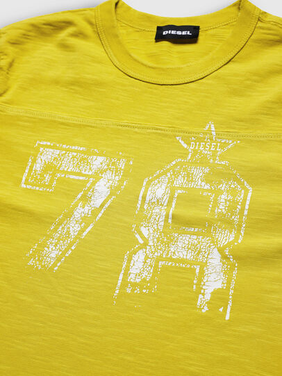 Diesel - TDIEGOCUTA, Yellow - T-shirts and Tops - Image 3