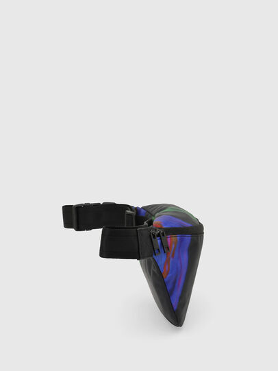 Diesel - F-SUSE BELT DM, Black/Blue - Belt bags - Image 3