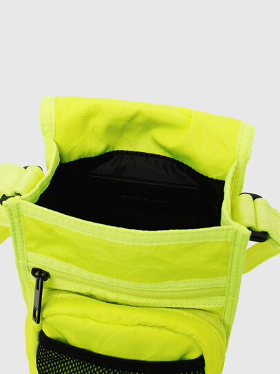 Diesel - ANKO, Yellow Fluo - Crossbody Bags - Image 4