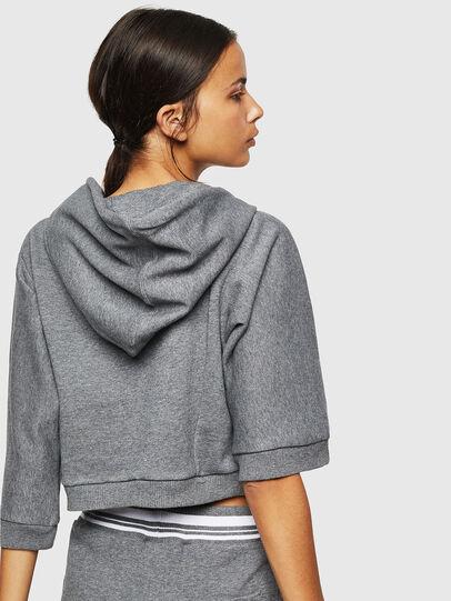 Diesel - UFLT-VERTIX-CROP, Grey - Sweaters - Image 2