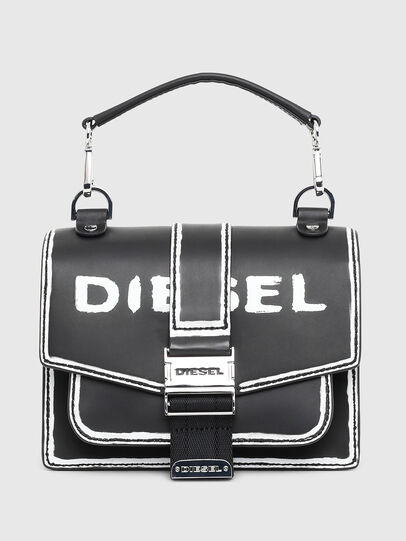 Diesel - MISS-MATCH CROSSBODY, Black/White - Crossbody Bags - Image 1
