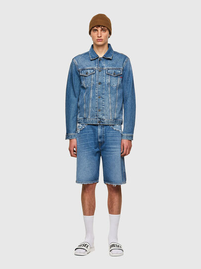 Diesel - D-WILLOH-X, Light Blue - Shorts - Image 5