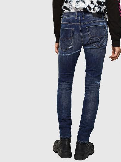 Diesel - Tepphar 0098N, Dark Blue - Jeans - Image 2