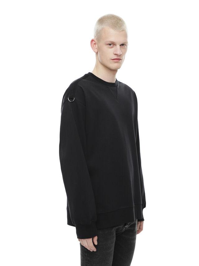 Diesel - FOBOH, Black - Sweaters - Image 3
