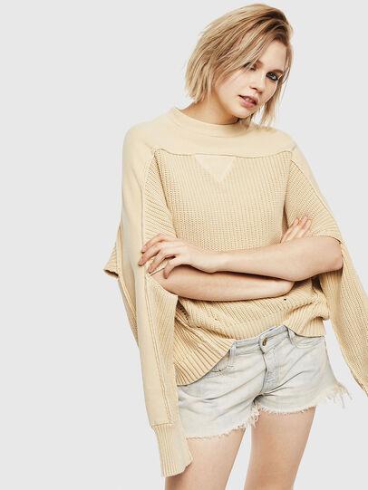 Diesel - M-SUNNY, Beige - Knitwear - Image 4