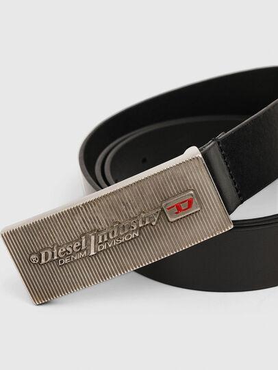 Diesel - B-PIASTRY, Black - Belts - Image 2