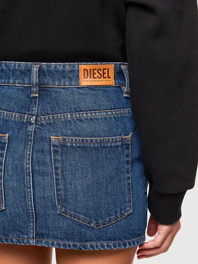 Diesel - DE-EISY, Medium blue - Skirts - Image 4