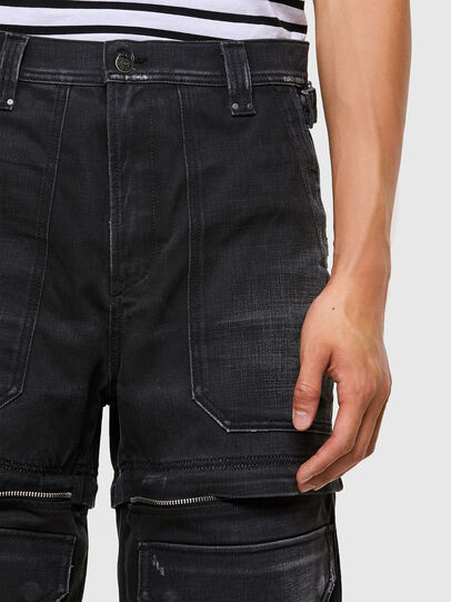 Diesel - D-Multy 009KX, Black/Blue - Jeans - Image 3