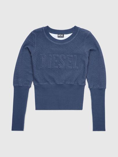 Diesel - UFLT-WILLAS-DW, Blue - Sweaters - Image 1