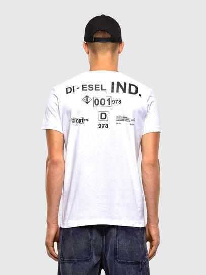 Diesel - T-DIEGOS-N21, White - T-Shirts - Image 2