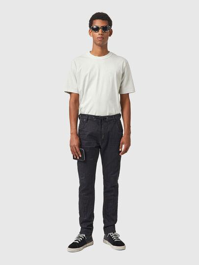 Diesel - Krooley JoggJeans® 069WB, Black/Dark grey - Jeans - Image 5